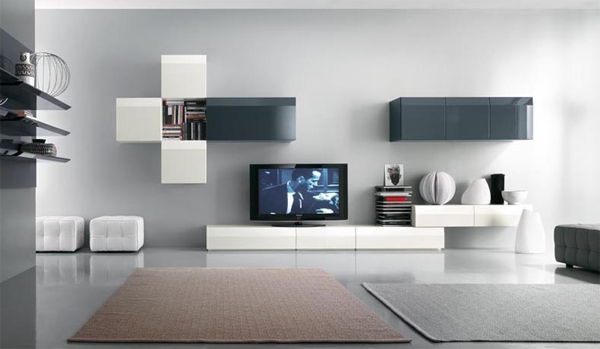 Best tv stands furniture ideas Wall tv console design