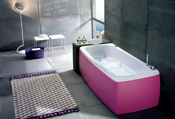 Gallery Of Color In Bathtubs Design With Italian Furniture