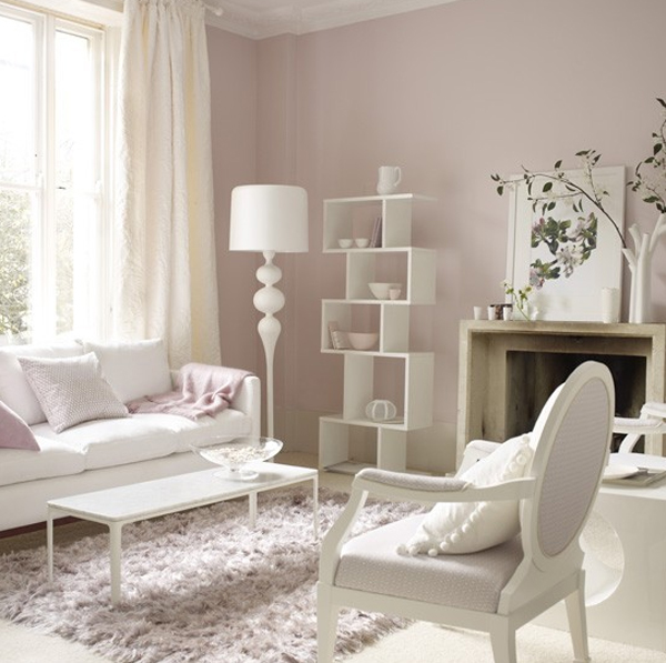 Pink Pastel Living Room Decorations
