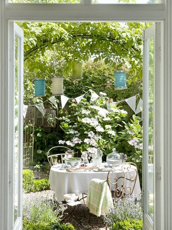 home decorating ideas living room pictures - romantic outdoor furniture garden ideas