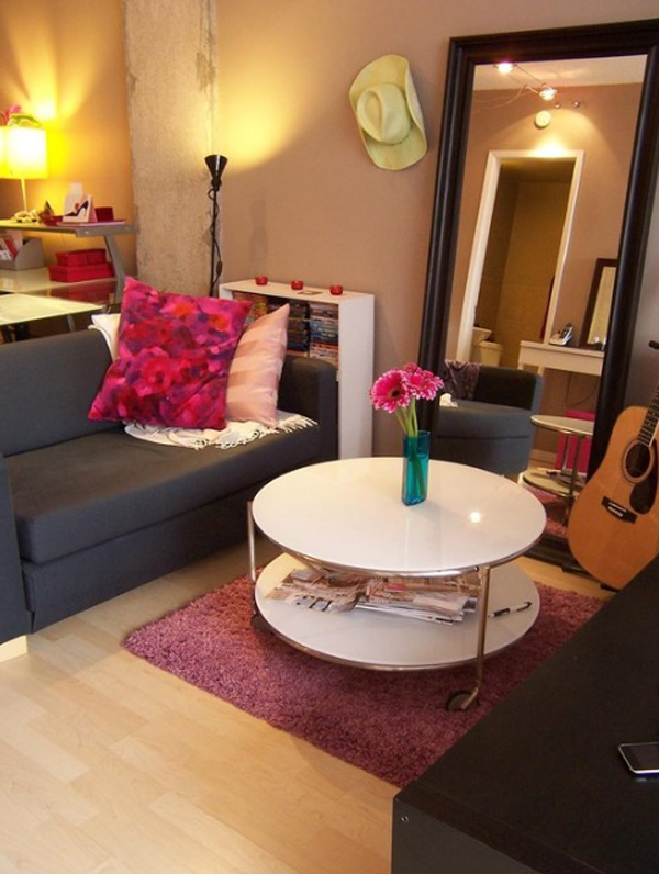 Small apartments with living room design - Living room design for apartment ...