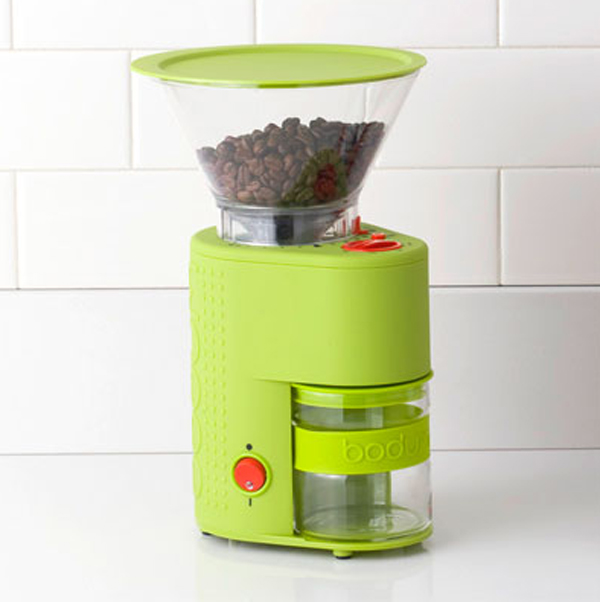 small kitchen appliances with coffe grinder 15 Cool and Colorful Small Kitchen Appliances