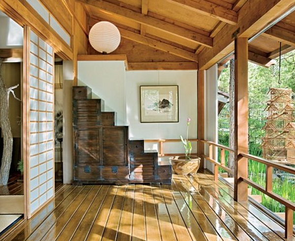 Gallery Of Traditional Japanese House Design With Stunning Forest
