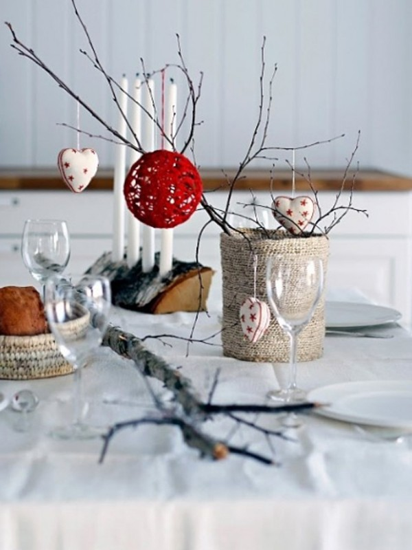 Gallery of 20 Collection of Christmas Table Setting Ideas