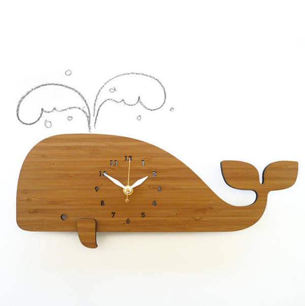 wooden clock design with pope themed Wooden Clock Ideas with Animal Themed