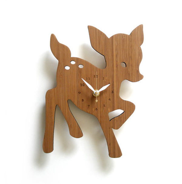 wooden clock ideas with animal themed Wooden Clock Ideas with Animal Themed