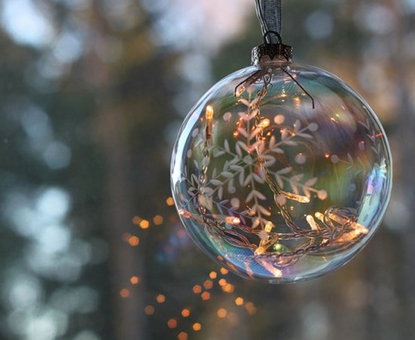 Glass Christmas Balls Decoration Ideas : Awesome glass christmas ornaments balls