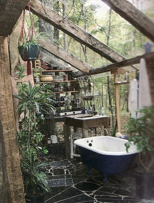 15 Awesome Outdoor Bathroom Design Ideas | Home Design And Interior