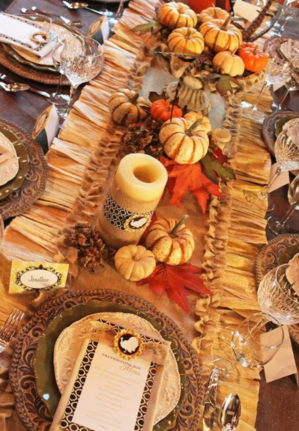 Awesome Thanksgiving Table For Dining Room Design