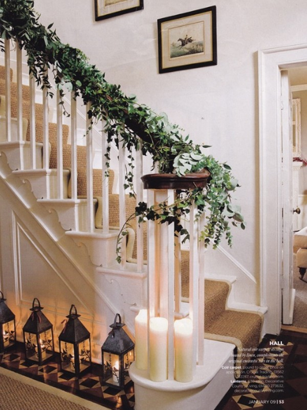 Most Useful Christmas Decorating Ideas for Stairs 600 x 800 · 126 kB · jpeg