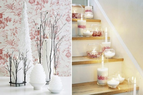 beautiful-pink-christmas-decorations-for-stair