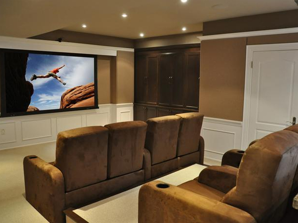 Best collection of home theater design from cedia for Architecture and design home theater