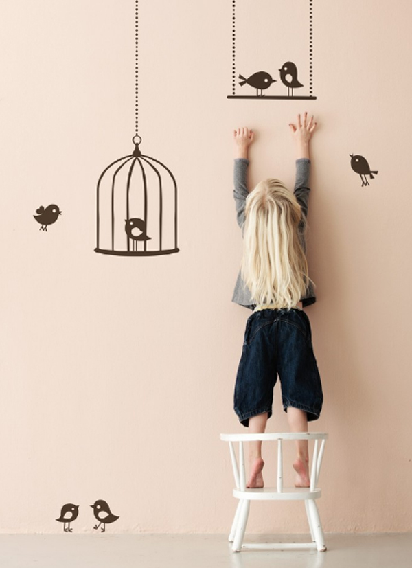 cool-and-creative-kids-room-wallpaper-with-birds-theme