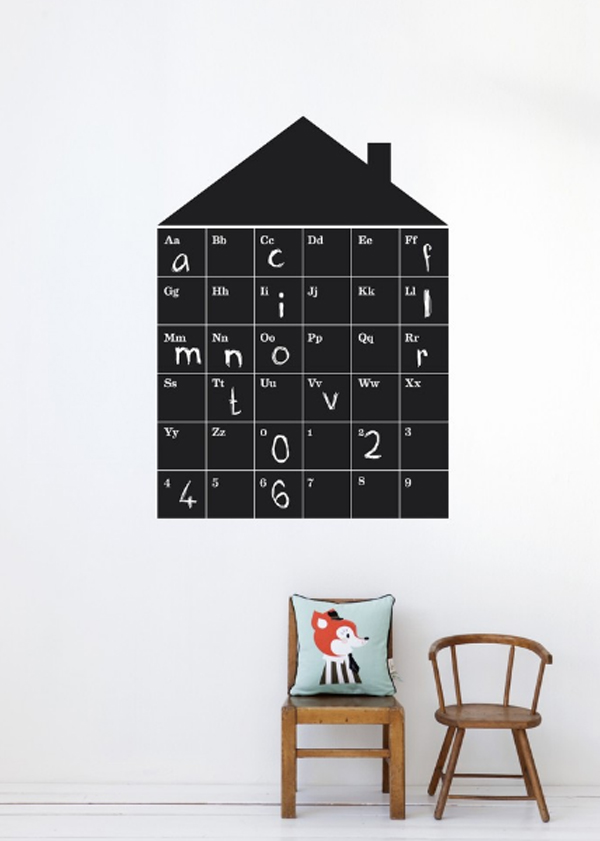 cool-and-creative-kids-room-wallpaper-with-calender-theme