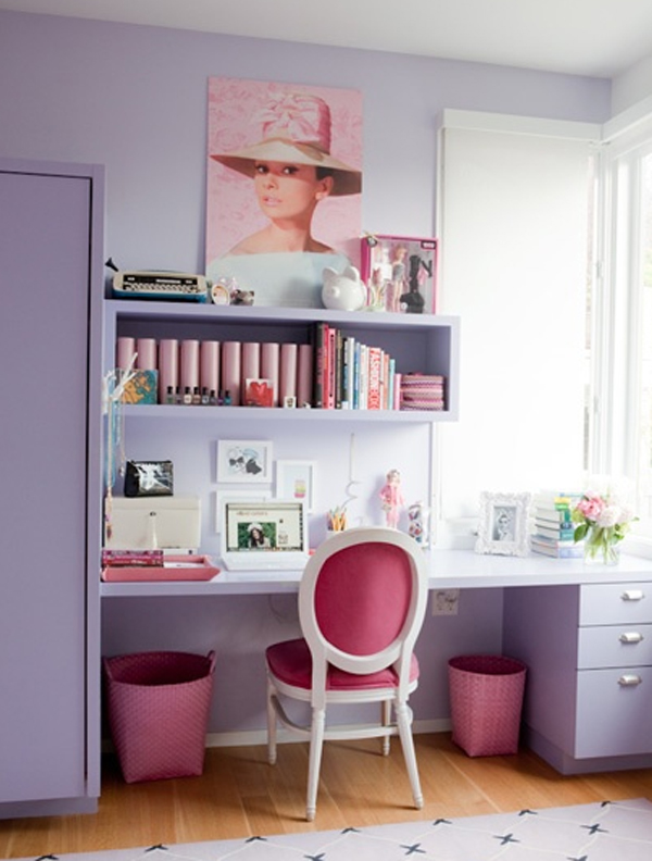 Cool And Cute Office In Closet Ideas