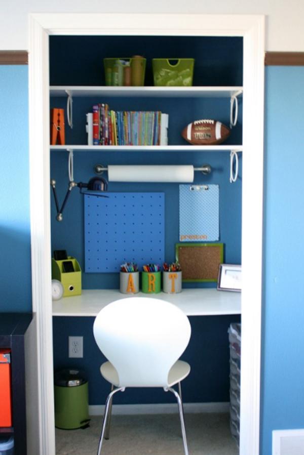 Excellent Closet Home Office Edeprem Com Largest Home Design Picture Inspirations Pitcheantrous