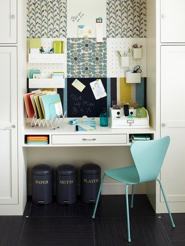 Enjoyable Cool And Stylish Office In Closet Ideas Largest Home Design Picture Inspirations Pitcheantrous