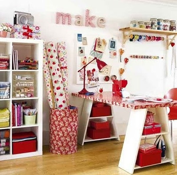 cool and wonderful kids room ideas with office decorations