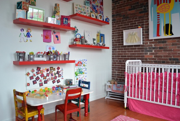 15 Cool And Wonderful Kids Room Design With Office ...