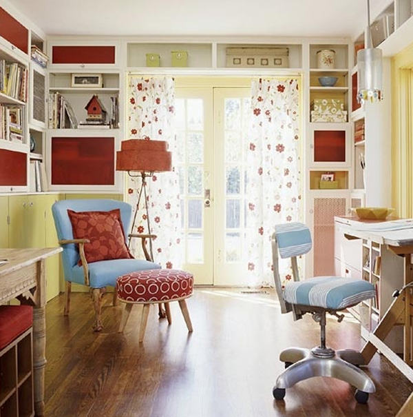 Cool And Wonderful Kids Room Design With Office Decoration
