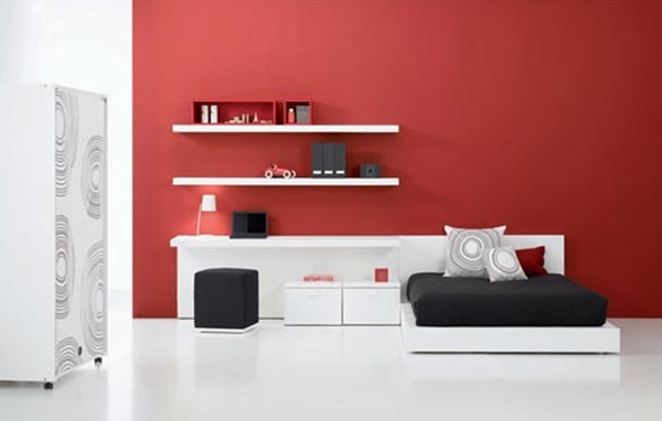 20 coolest black and red bedroom design ideas home design and