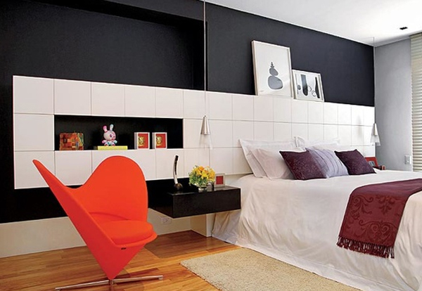20 coolest black and red bedroom design ideas home - Black white and red bedroom decorating ideas ...