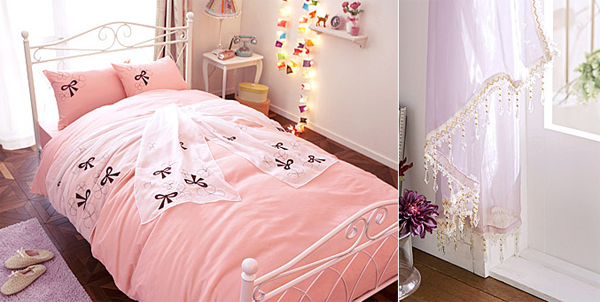 Cute pink bedroom design ideas for girl for Cute bedroom decorating ideas for girls