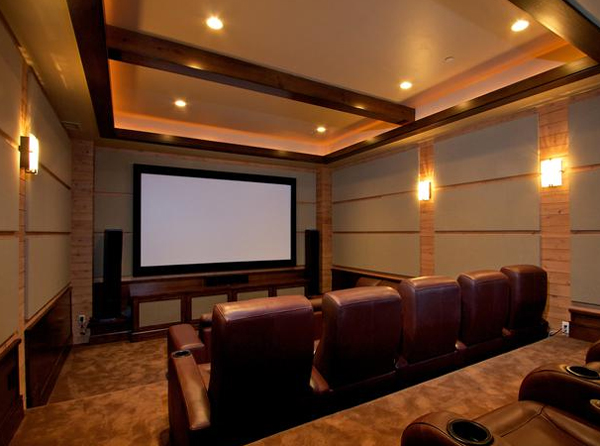 Elegant Home Theater Seating From Cedia