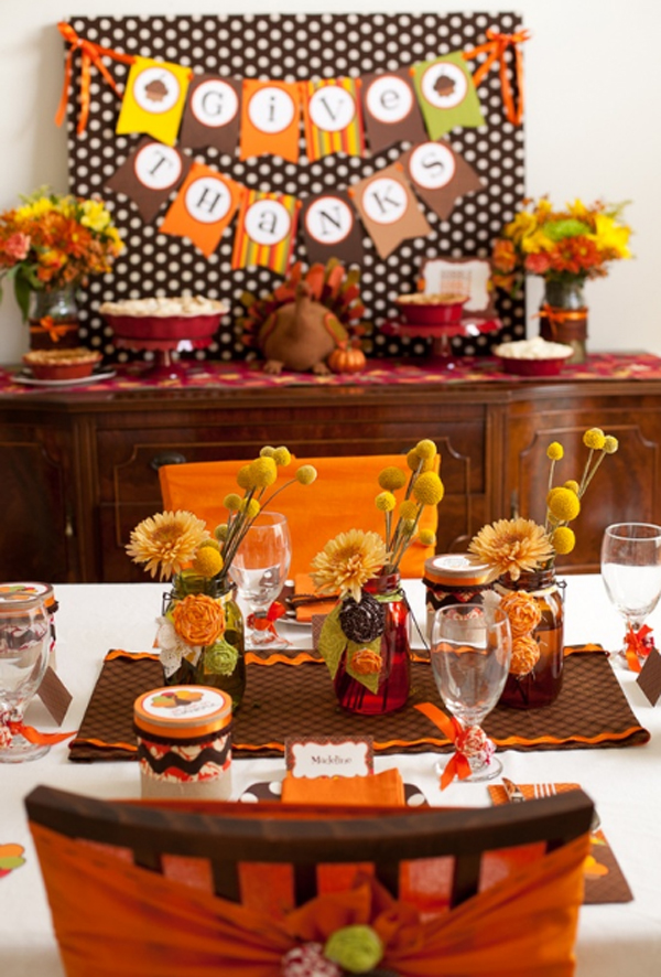 Gorgeous And Awesome Kids Thanksgiving Table Decorations Design Inspirations