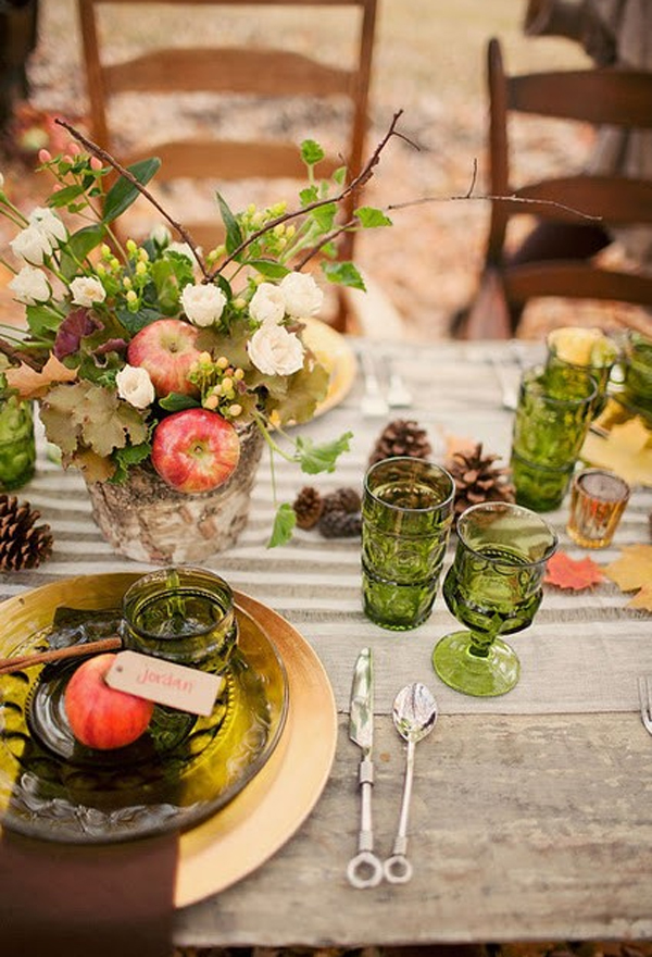 Gorgeous and awesome thanksgiving dinner table for Gorgeous thanksgiving table settings