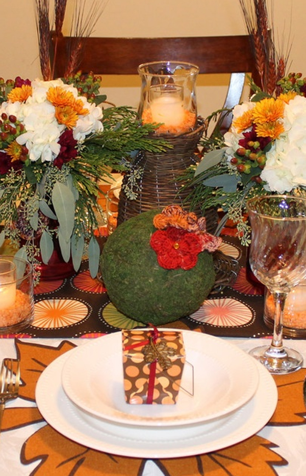 20 gorgeous and awesome thanksgiving table decorations for Gorgeous thanksgiving table settings