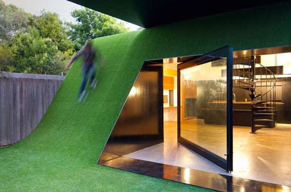Green small house design by andrew maynard architects for Green small house plans