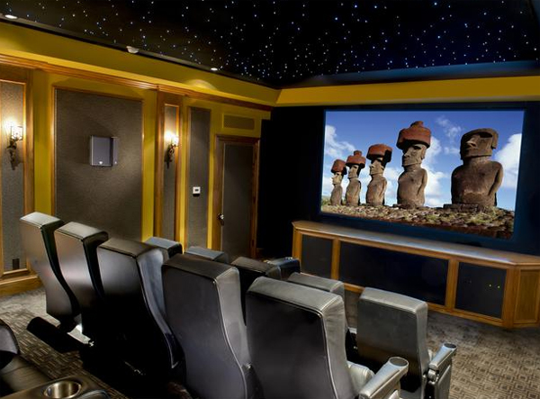 Inspiring best home theater design ideas from cedia Home theatre room design ideas in india