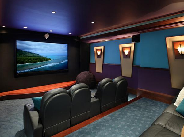 Home Theater Design home theatre systems Source Hgtvremodels