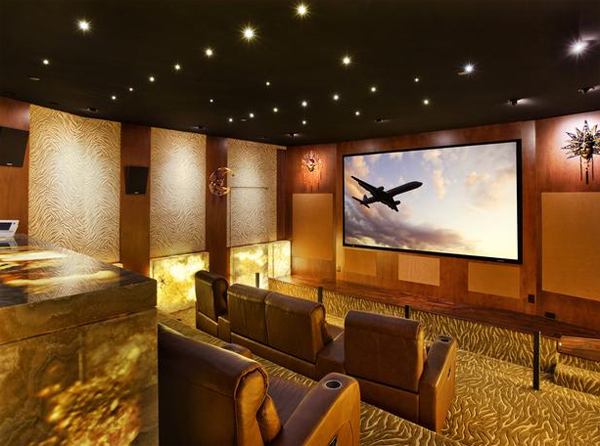 The Images Collection Of Inspiring Gallery Designs Ideas: Inspiring-home-theater-design-ideas