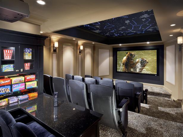Best collection of home theater design from cedia Interior design ideas home theater
