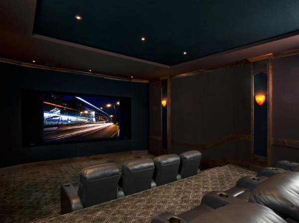 The Images Collection Of Inspiring Gallery Designs Ideas: Inspiring-best-home-theater-ideas-from-cedia
