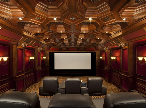 Inspiring home theater design ideas Home theater architecture