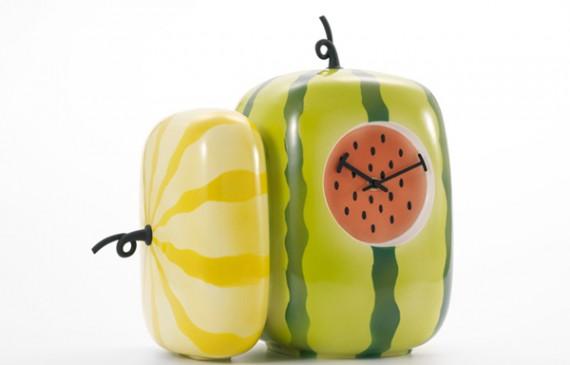 kitchen-clock-design-with-fresh-fruit-theme