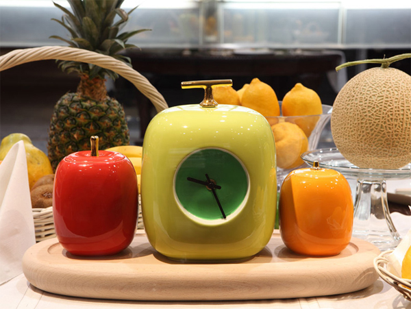 kitchen-clock-with-fresh-fruit-theme