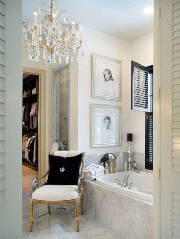 luxury white bathroom design ideas