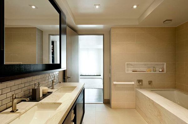 Modern Apartment Bathroom modern-white-apartment-ideas-with-bathroom-appliances