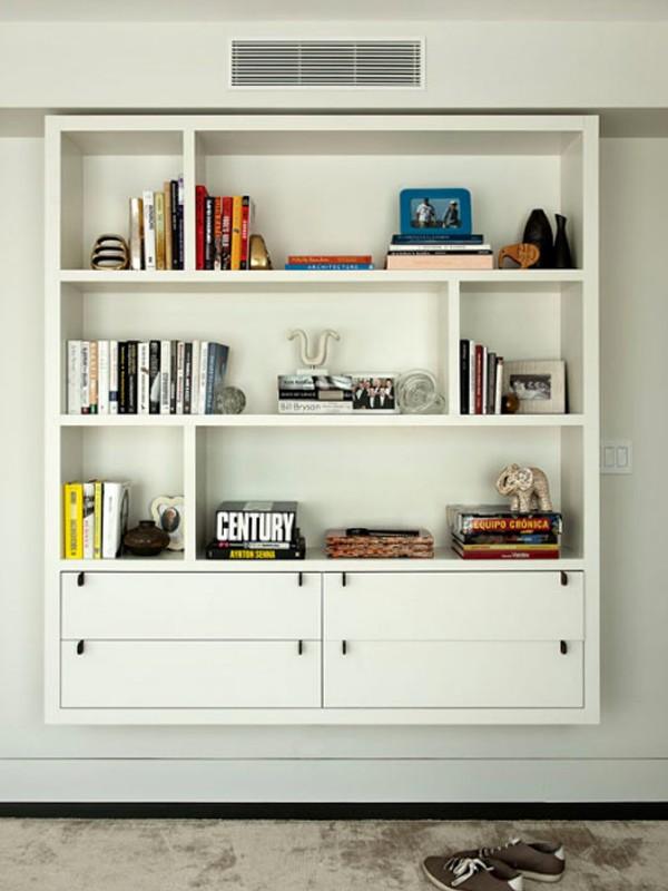 attic apartment storage ideas - white apartments with closet storage systems