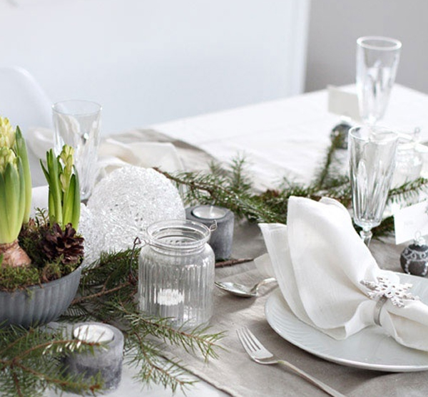 33 Most Amazing Christmas Table Settings & 33 Most Amazing Christmas Table Settings | Home Design And Interior