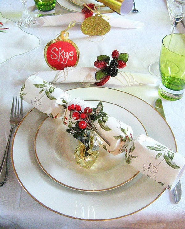 source  pinterest & 33 Most Amazing Christmas Table Settings | Home Design And Interior