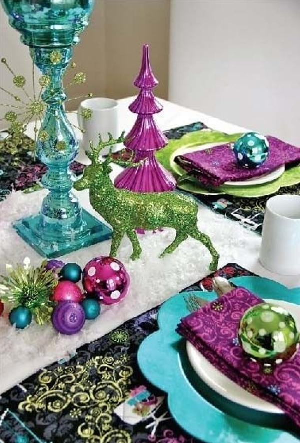 33 most amazing christmas table settings home design and Christmas place setting ideas