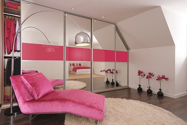 Stylish girl bedroom decor with pink color Designer girl bedrooms pictures