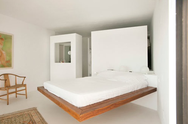 White Beach House Furniture Located In Spain