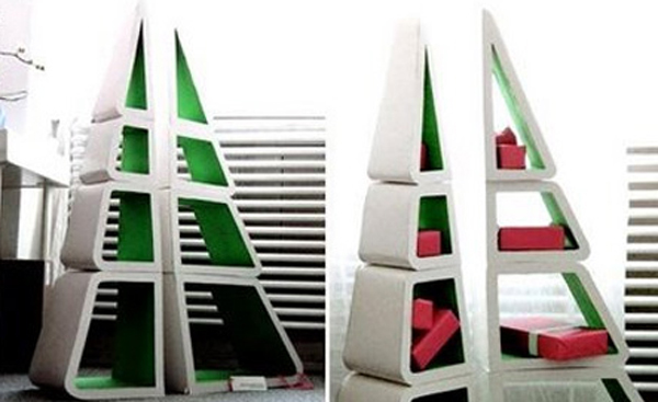 christmas-tree-bookshelf-ideas-2013