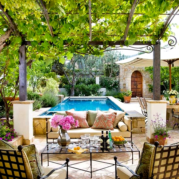 14 Comfortable And Modern Backyard Pool Ideas: Comfortable-and-modern-backyard-designs-with-pools